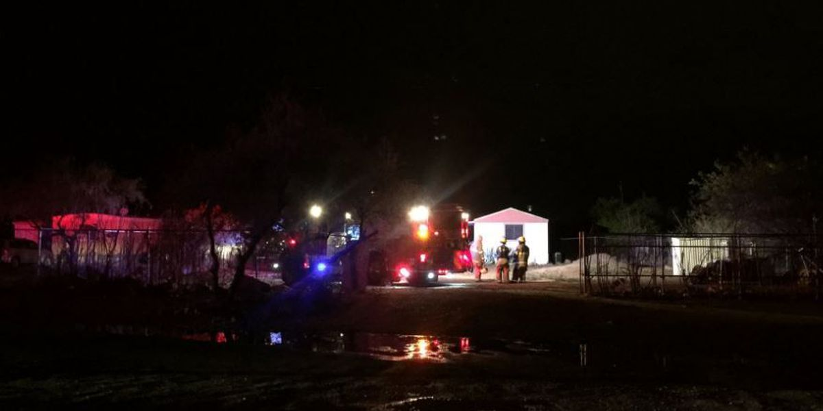 Lightning may have contributed to burning wires in mobile home fire