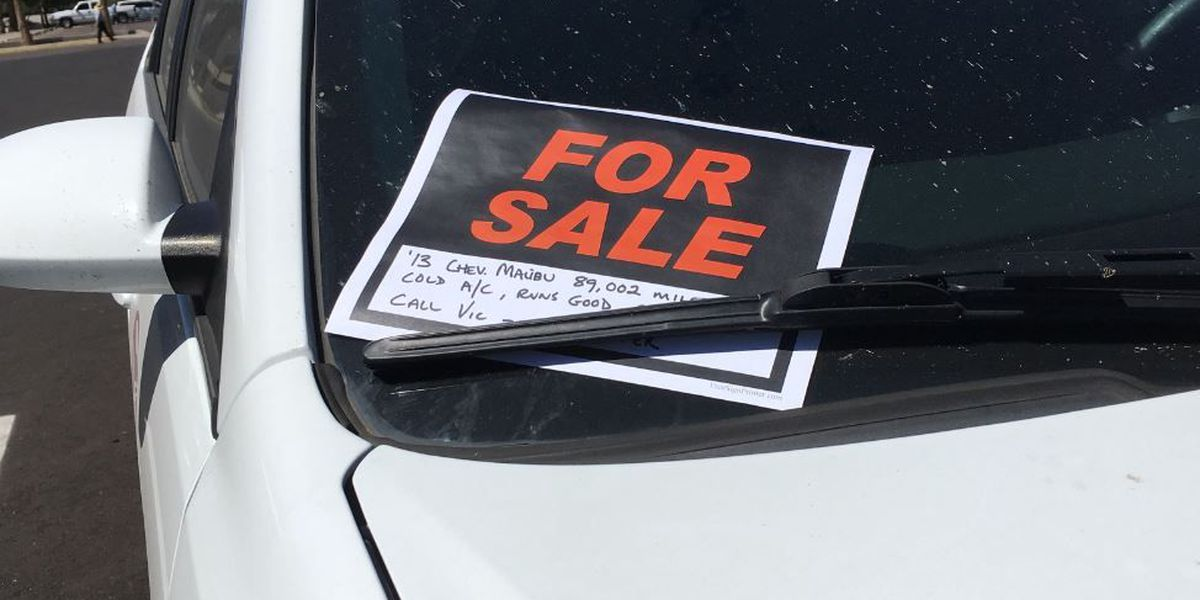 ADOT: Buying a vehicle? Beware of potential fraud, Export Only stamp