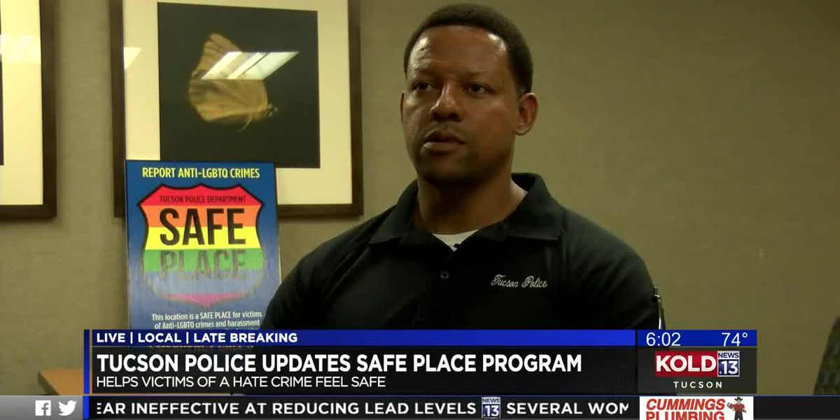 Tucson police update SAFE Place program to be more inclusive