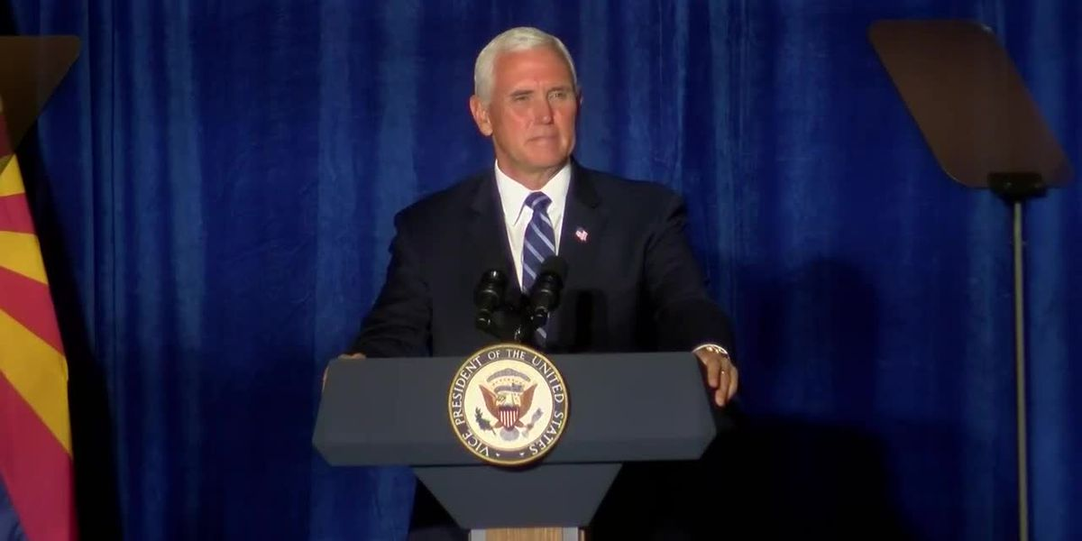 Vice president to visit Phoenix on Friday