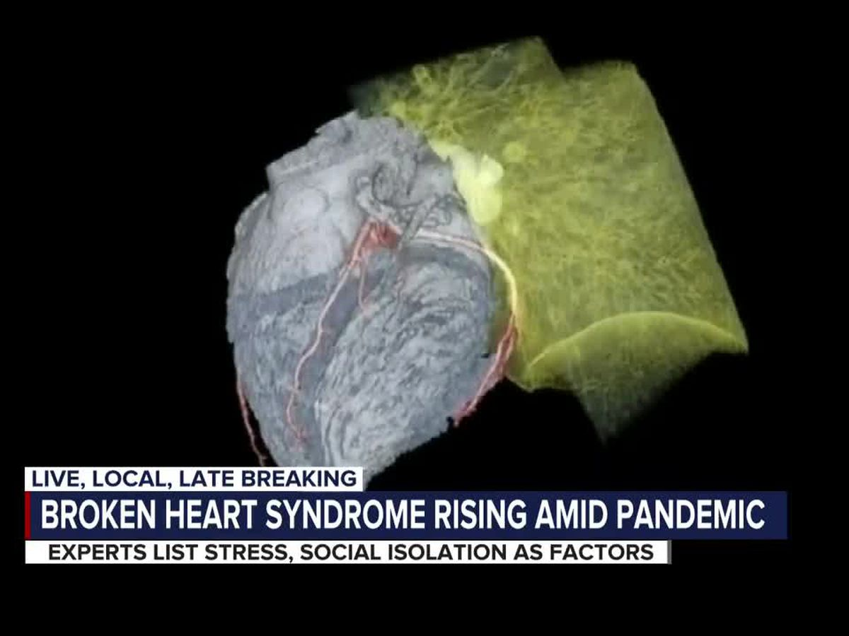 Broken Heart Syndrome on the Rise Amid Pandemic