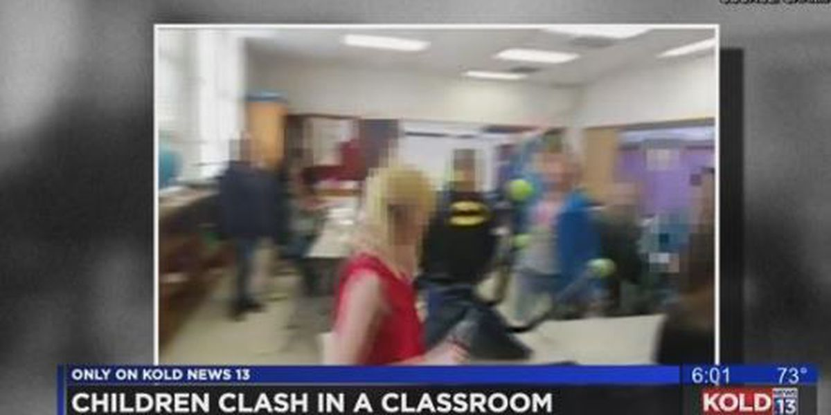 VIDEO: Long-term sub no longer with TUSD after students clash in class