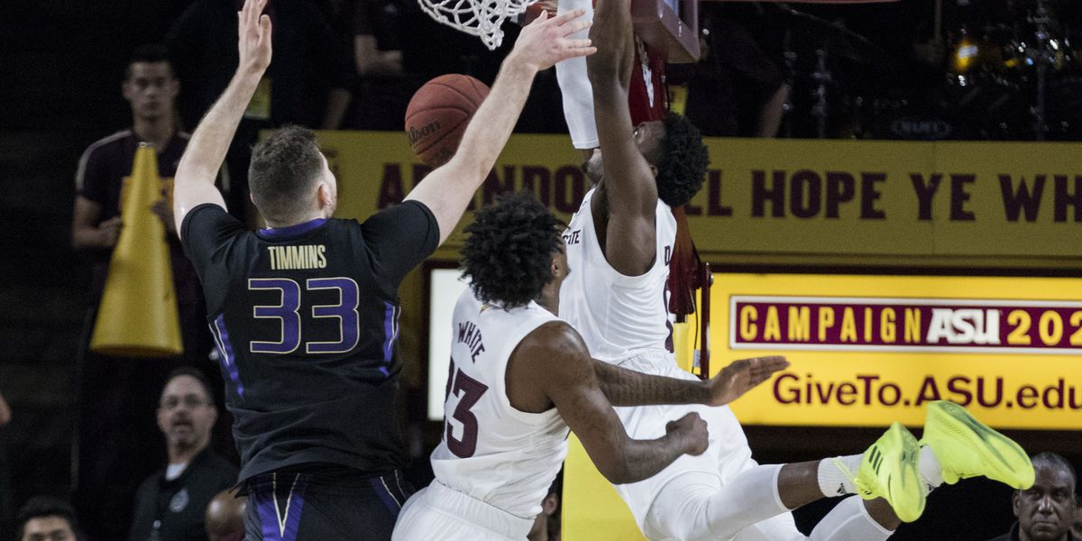 Arizona State hands Washington its first Pac-12 loss, 75-63