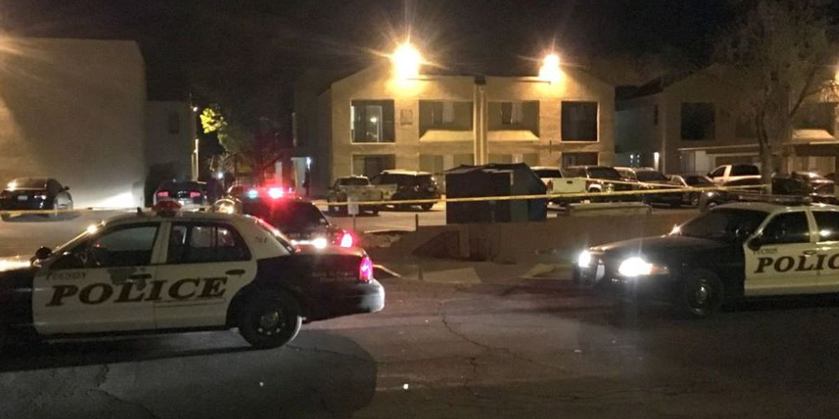 Two injured, authorities respond to shots fired call at apartment complex in Tucson