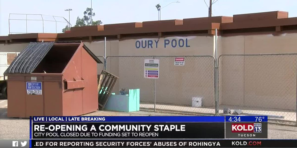 Oury Park Pool reopens