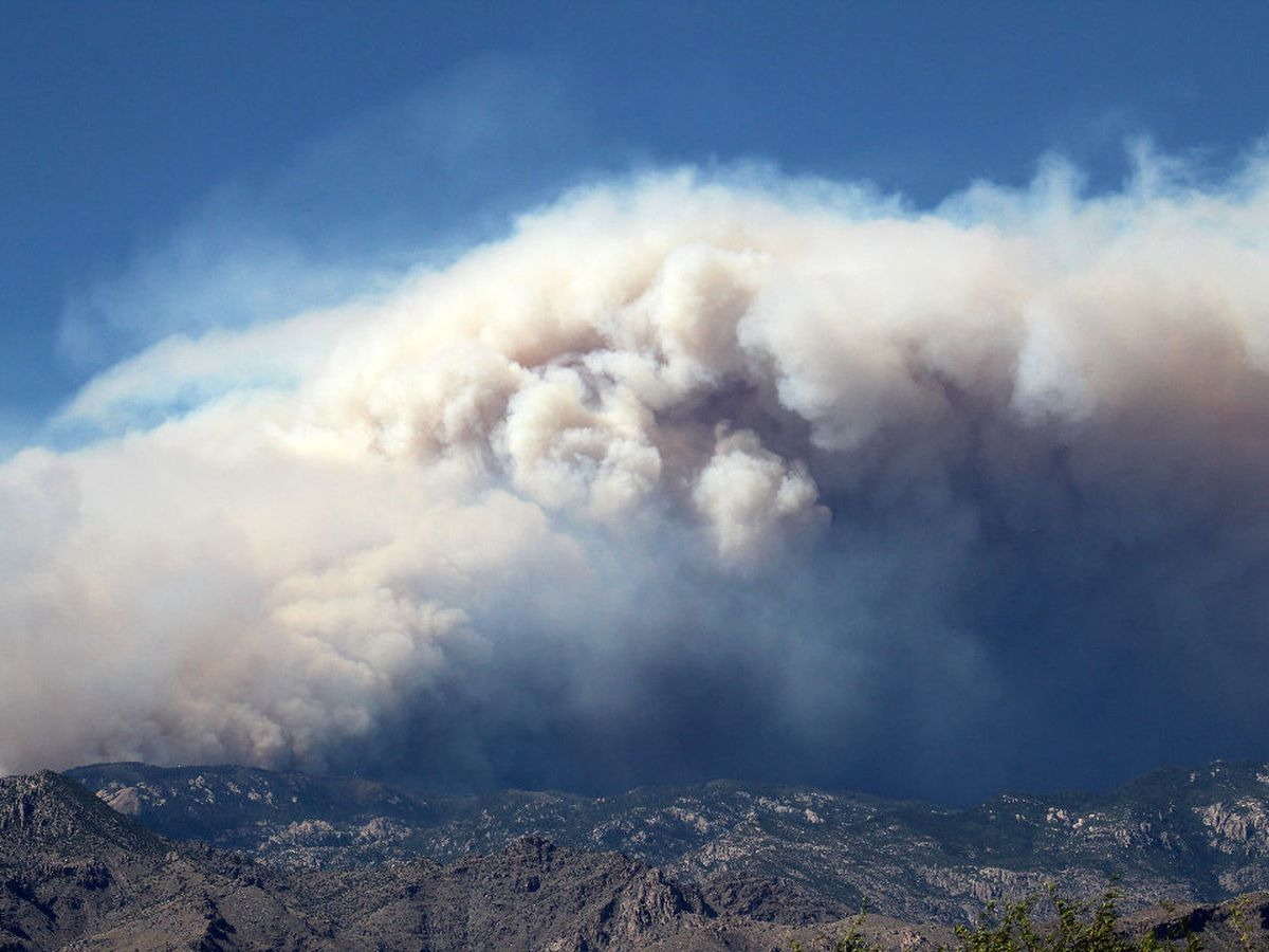 PHOTOS AND VIDEO: Bighorn Fire burning in Santa Catalina Mountains