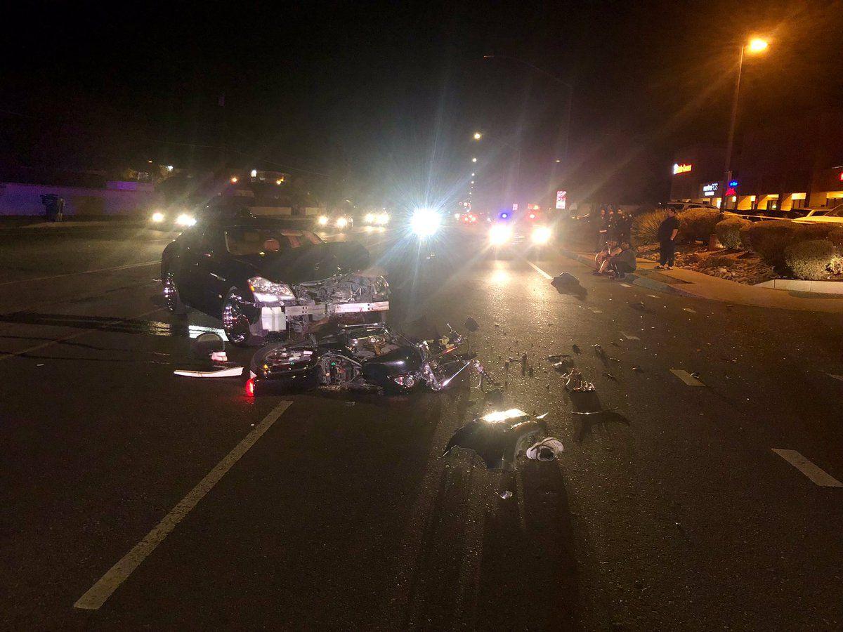 Gas Prices Tucson >> UPDATE: Fatal crash involving motorcyclist on Alvernon Way