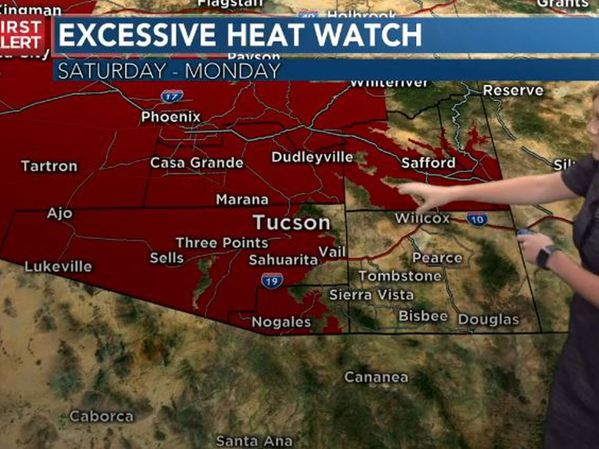 ACTION DAYS: Excessive heat in forecast
