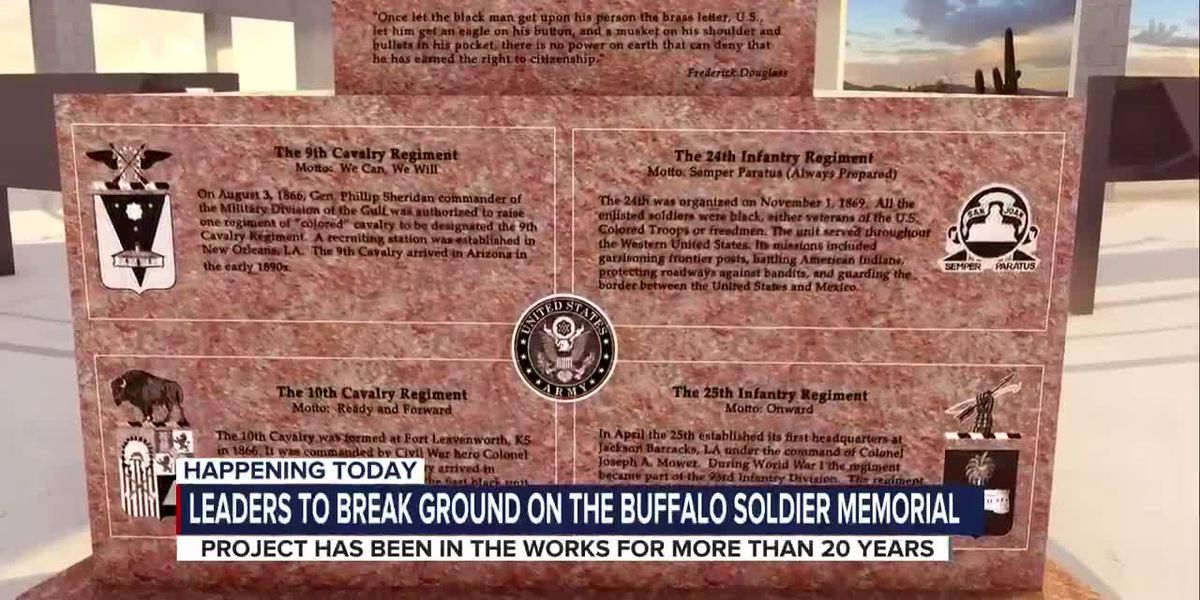 Tucson breaks ground on Buffalo Soldier Memorial