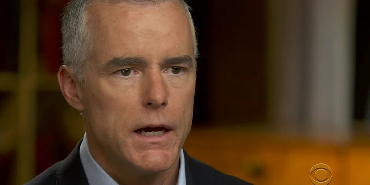 Ex-FBI official McCabe: 'Crime may have been committed' by Trump