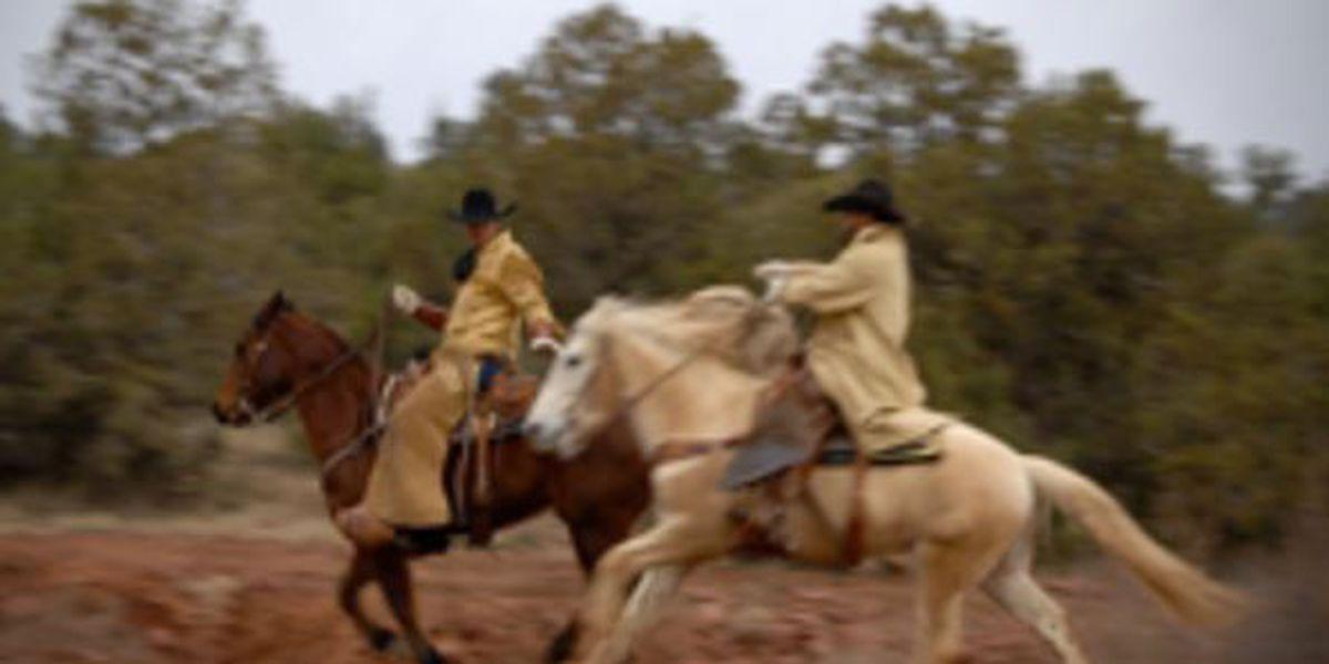 Hashknife Pony Express riding along 200-mile mail route