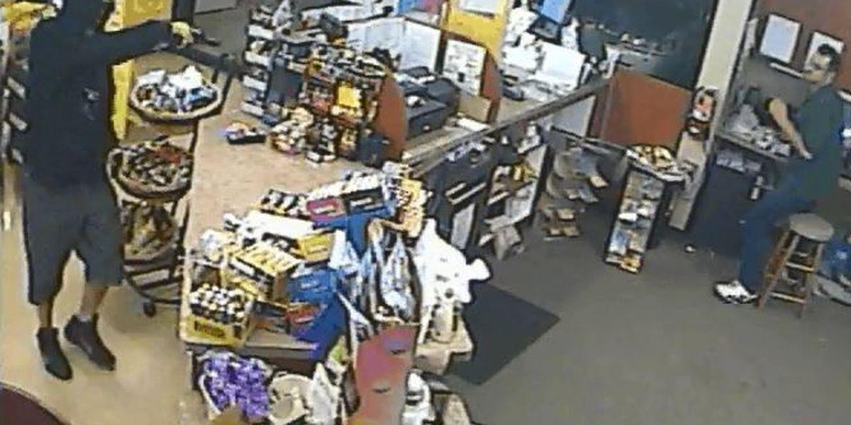Detectives seek bandana-wearing armed robbery suspect