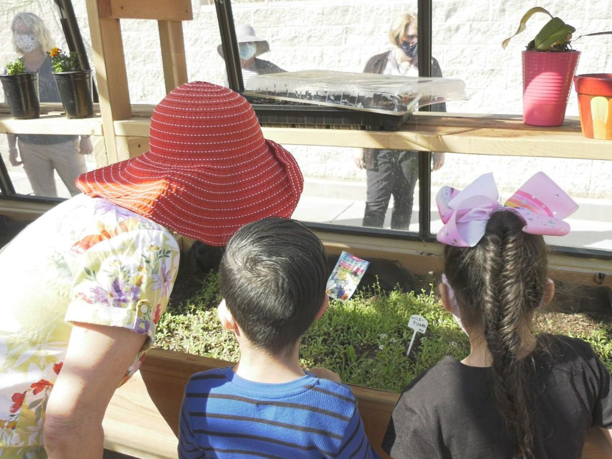 Tucson school transforms greenhouse to gives students unique learning experience