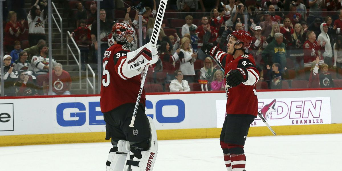 Kuemper helps Coyotes top Wild 4-0 to continue playoff push