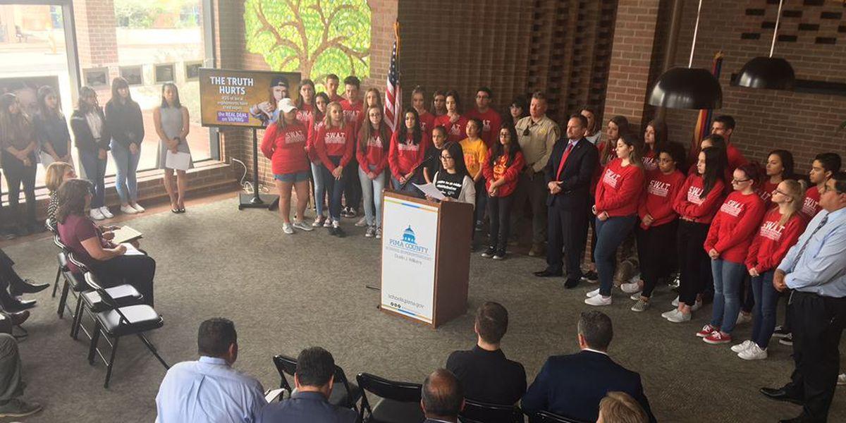 Anti-vaping campaign kicks off in Pima County
