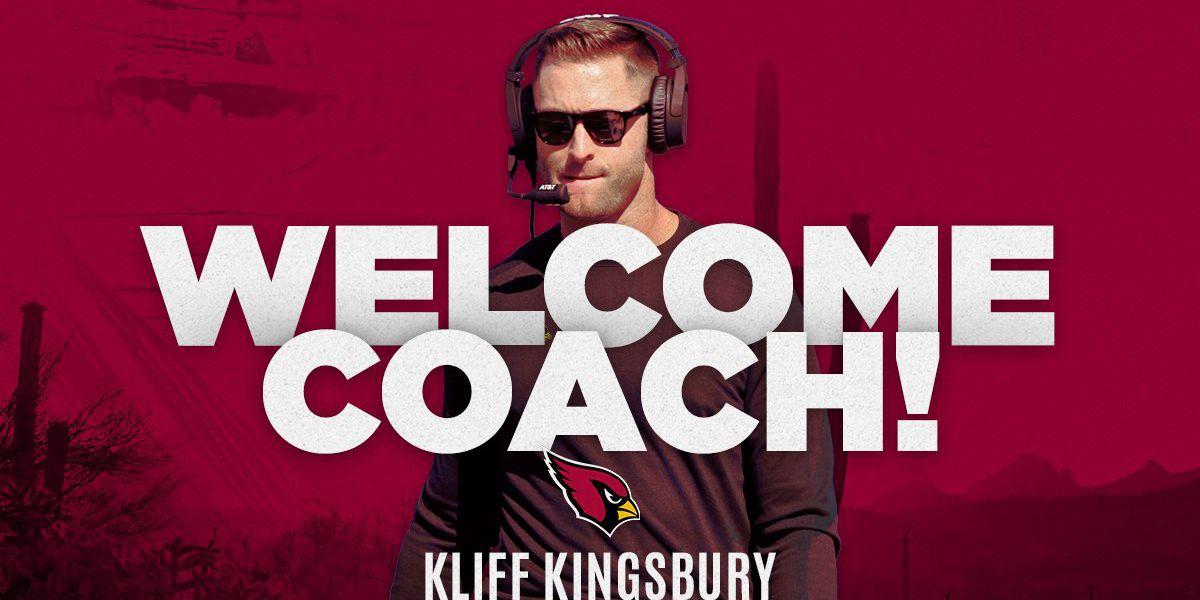 Cardinals name Kliff Kingsbury head coach