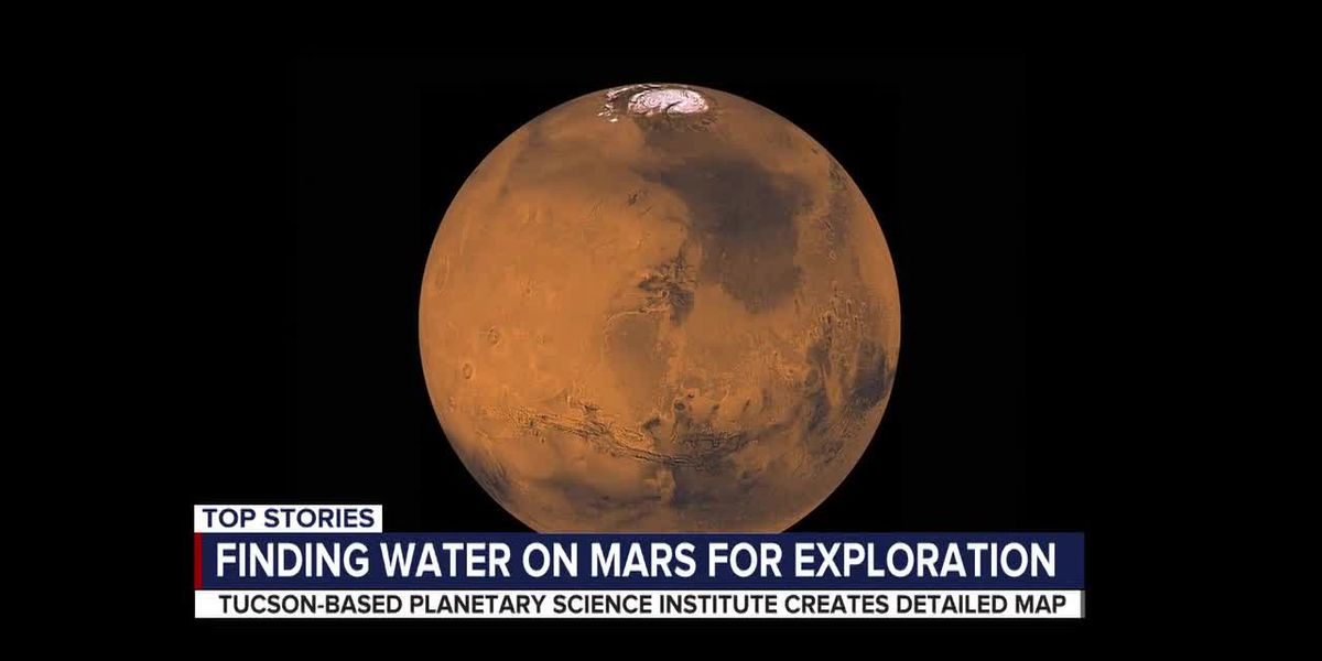 Sending mankind to Mars: Tucson-based science institute maps ice to support mission