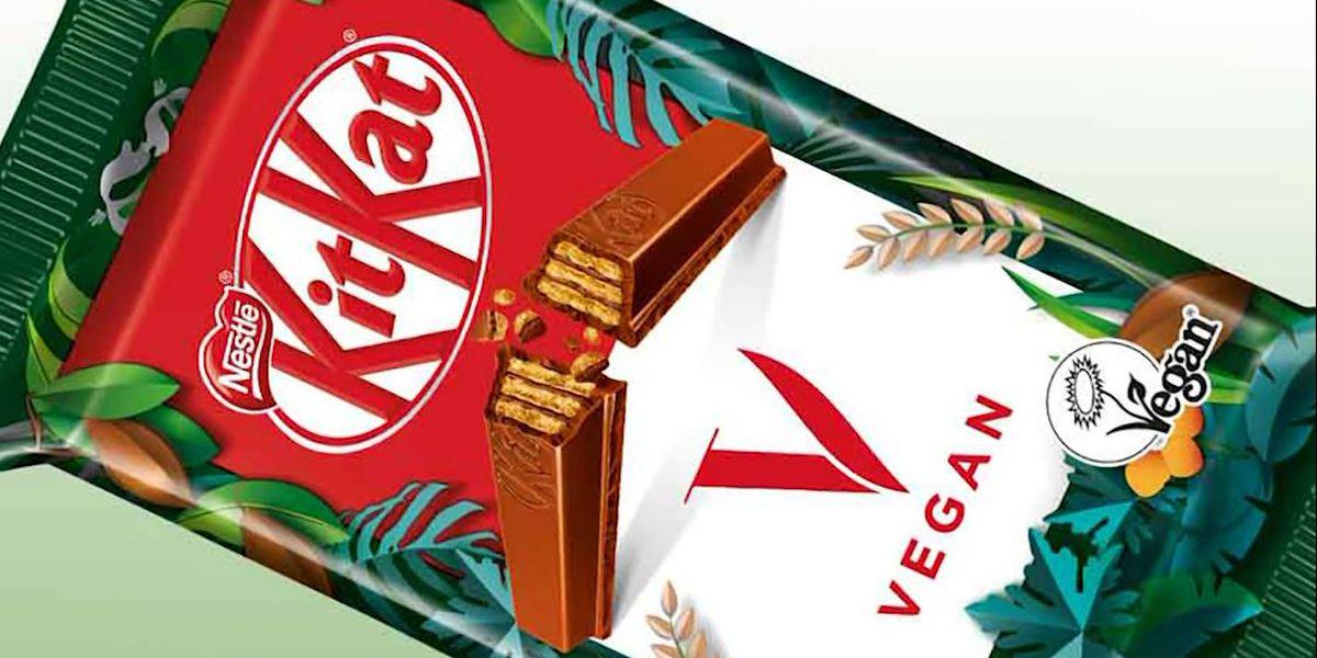 Nestle creates vegan KitKat bar