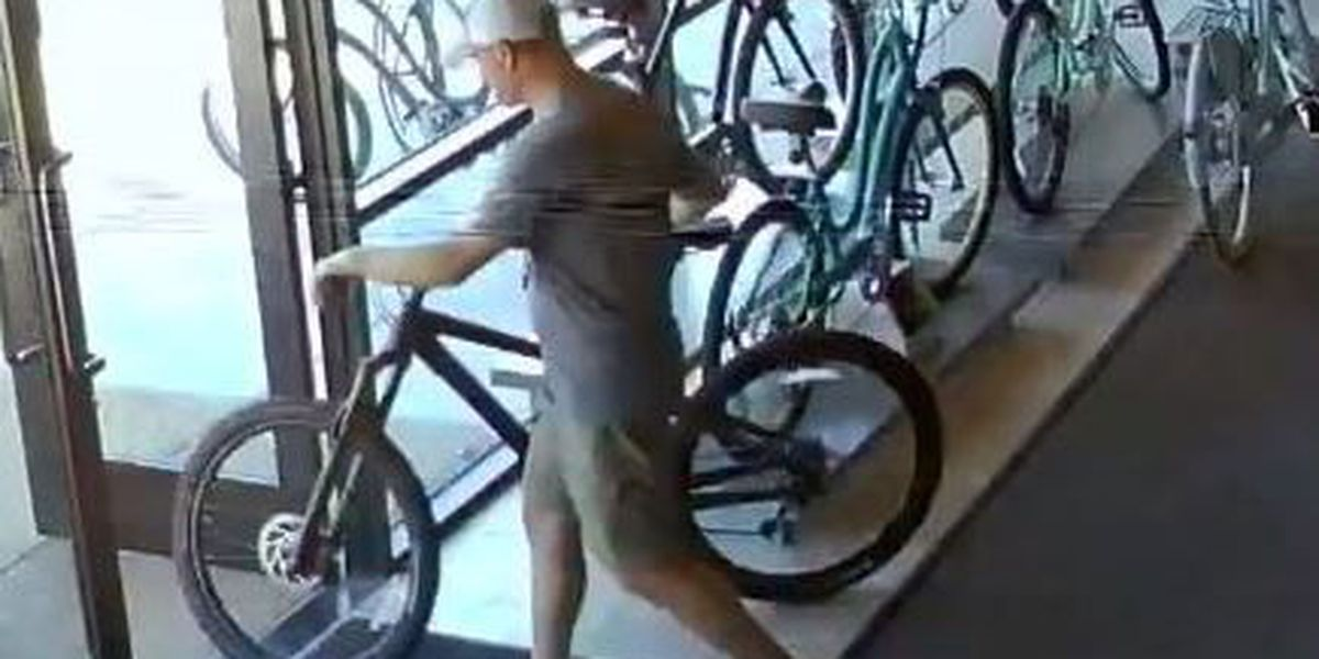 Pima Co. Sheriff's Dept. searching for bike theft suspect