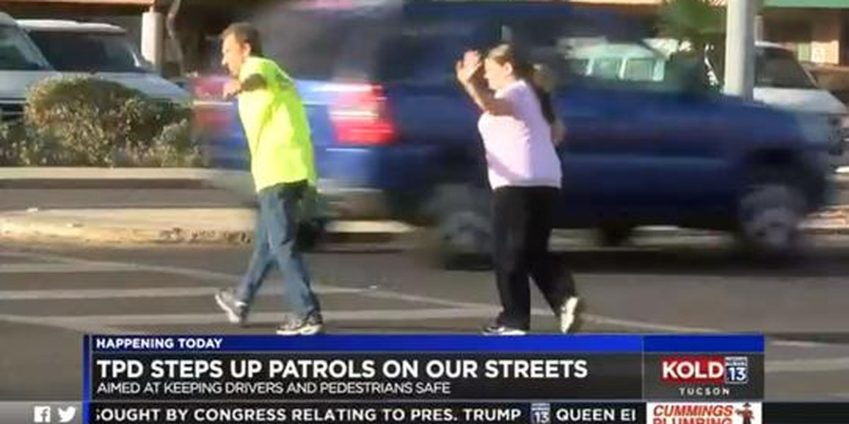 TPD conducts safety education for drivers and pedestrians