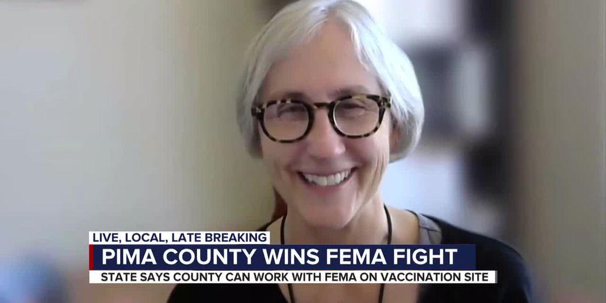 State reverses decision, Pima County gets FEMA site