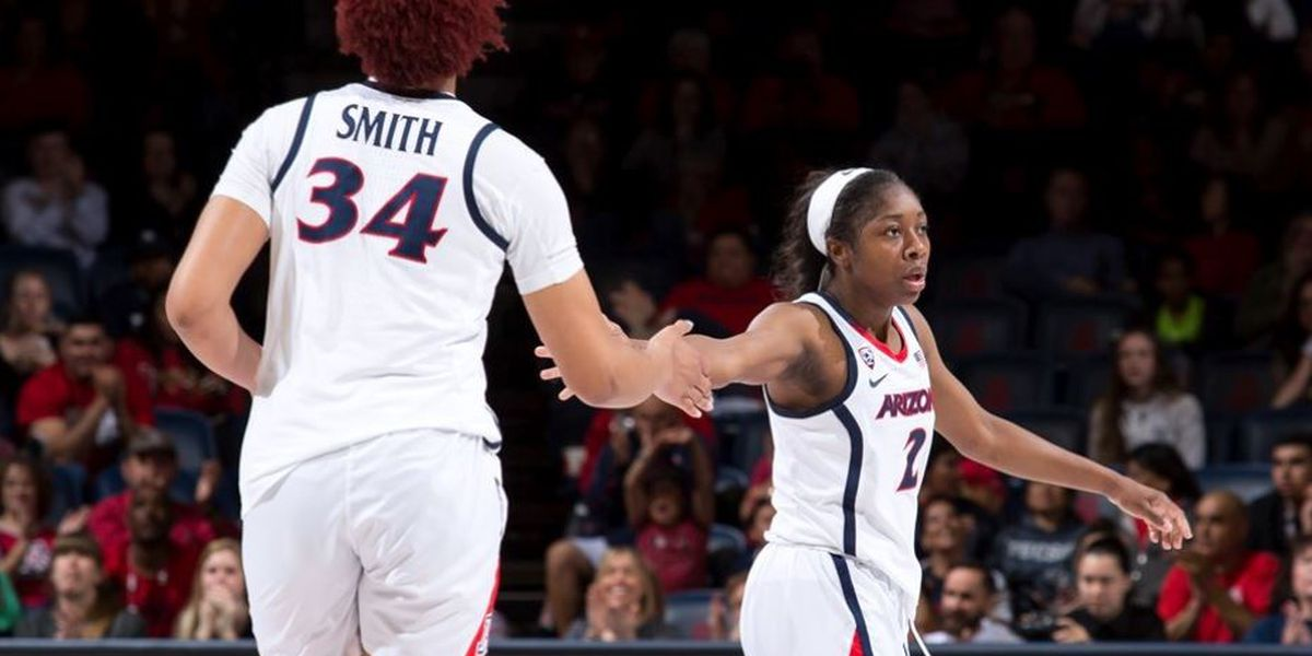 Arizona advances to WNIT semifinals with 67-45 rout of Wyoming