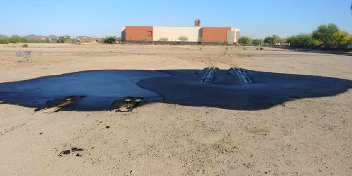 Oil spilled near movie theater in Marana not considered hazmat situation