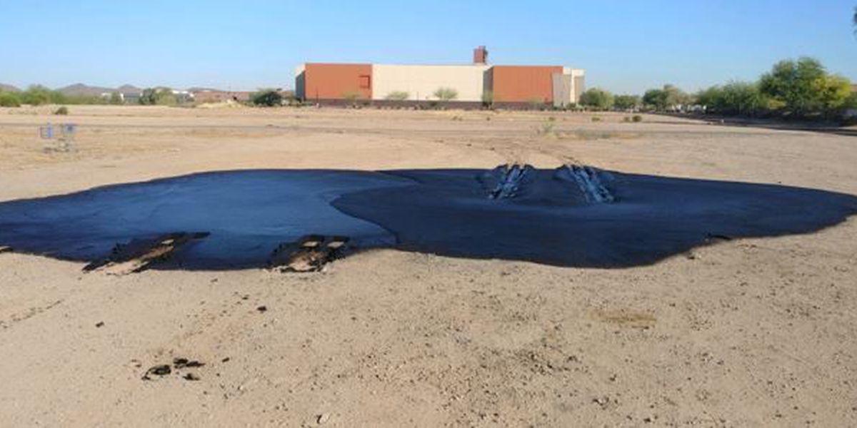 Oil spilled near movie theater in Marana not considered hazmat situation