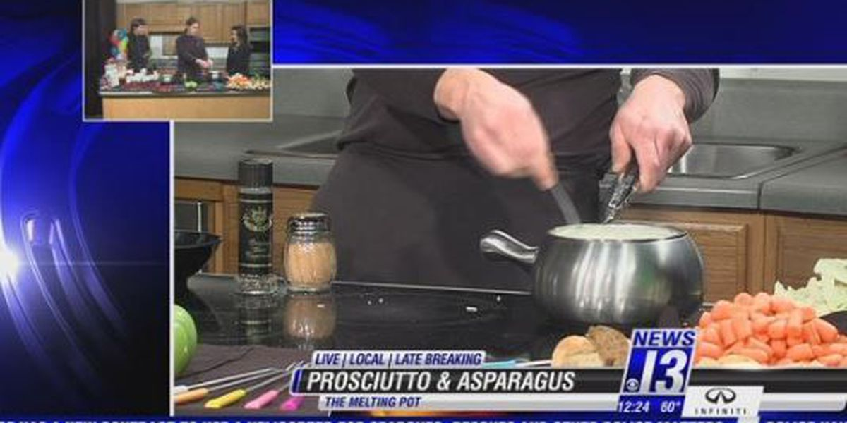 Prosciutto and Asparagus - The Melting Pot