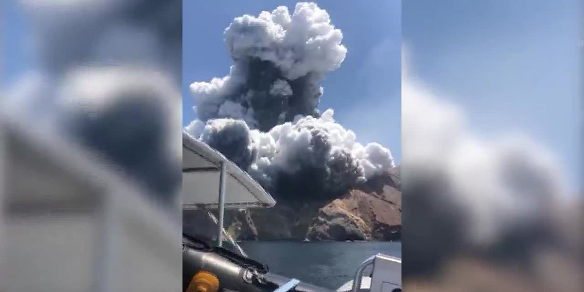 Volcano survivor describes horrific experience helping 23 victims injured during eruption