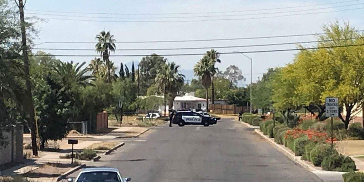 Tucson police investigating after man's body found on fire in wash near 22nd, Alvernon