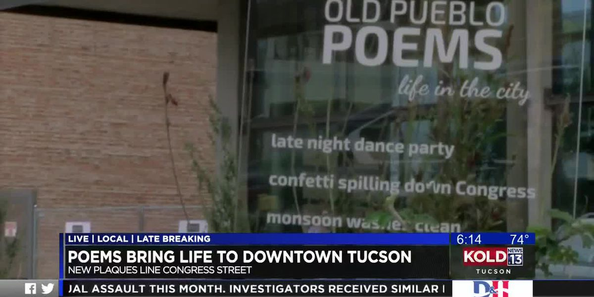 Old Pueblo Poems help bring rhythm back downtown