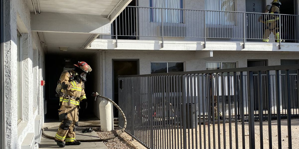 TFD puts out fire at Benson Highway hotel