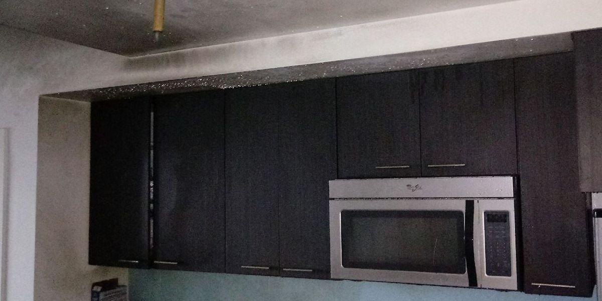 Apartment sprinkler system saves lives, property