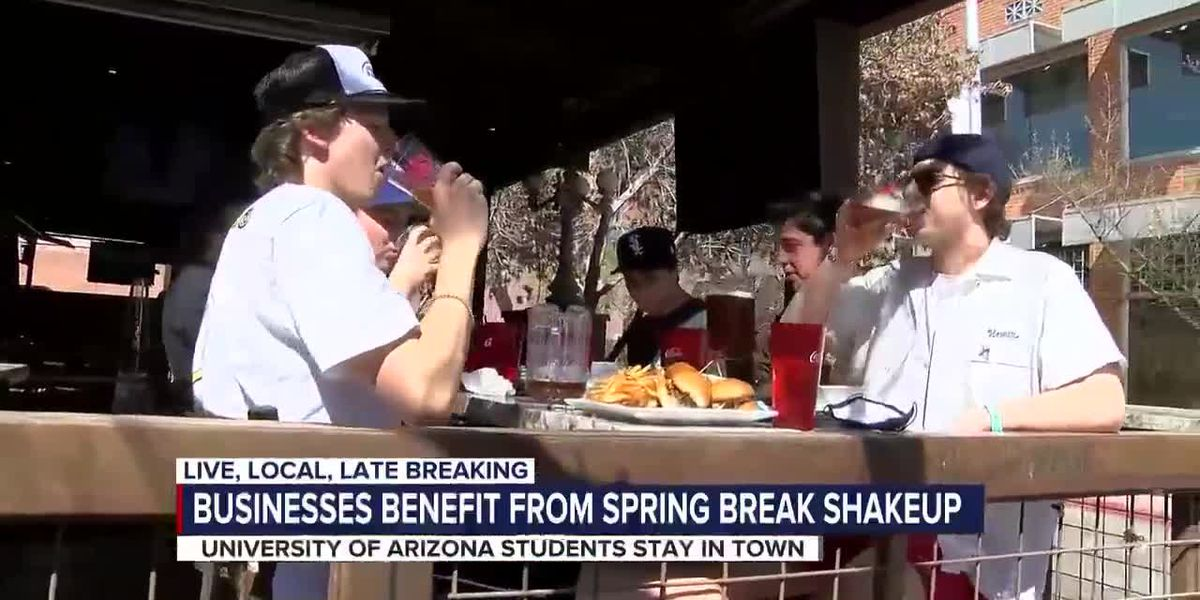 Non-traditional spring break helps businesses