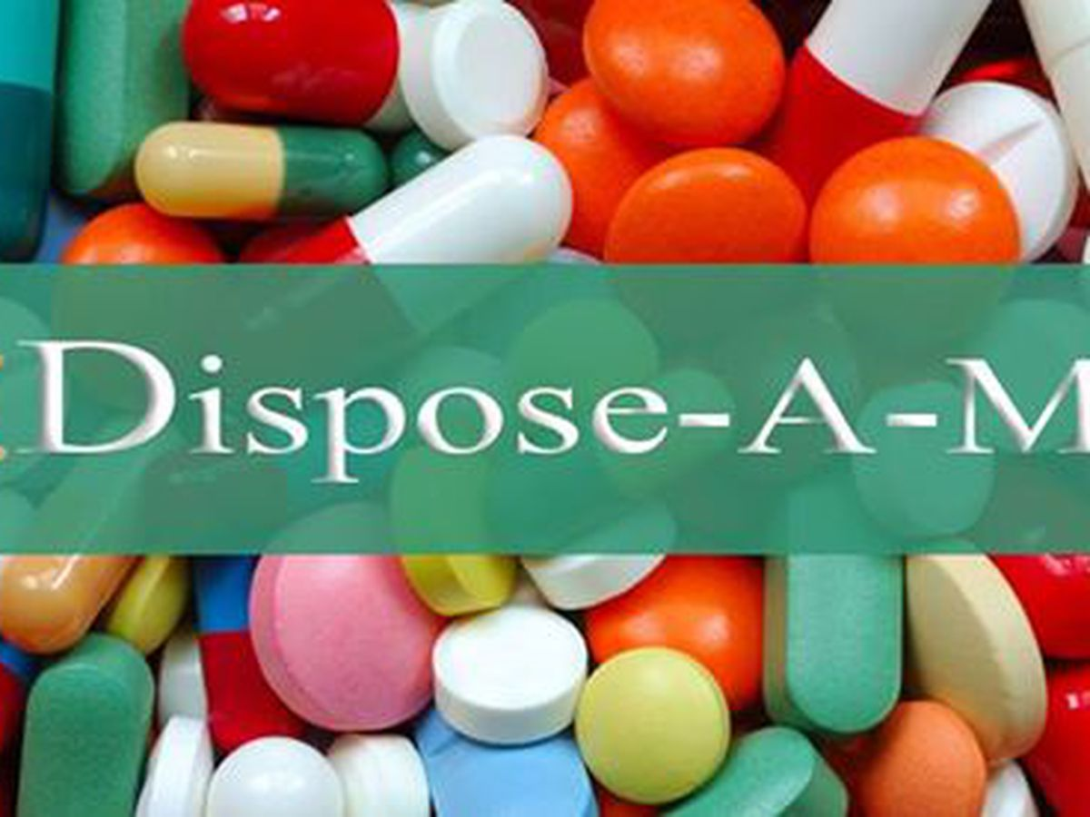 Surrender expired, unused prescription drugs at Dispose-A-Med event this weekend
