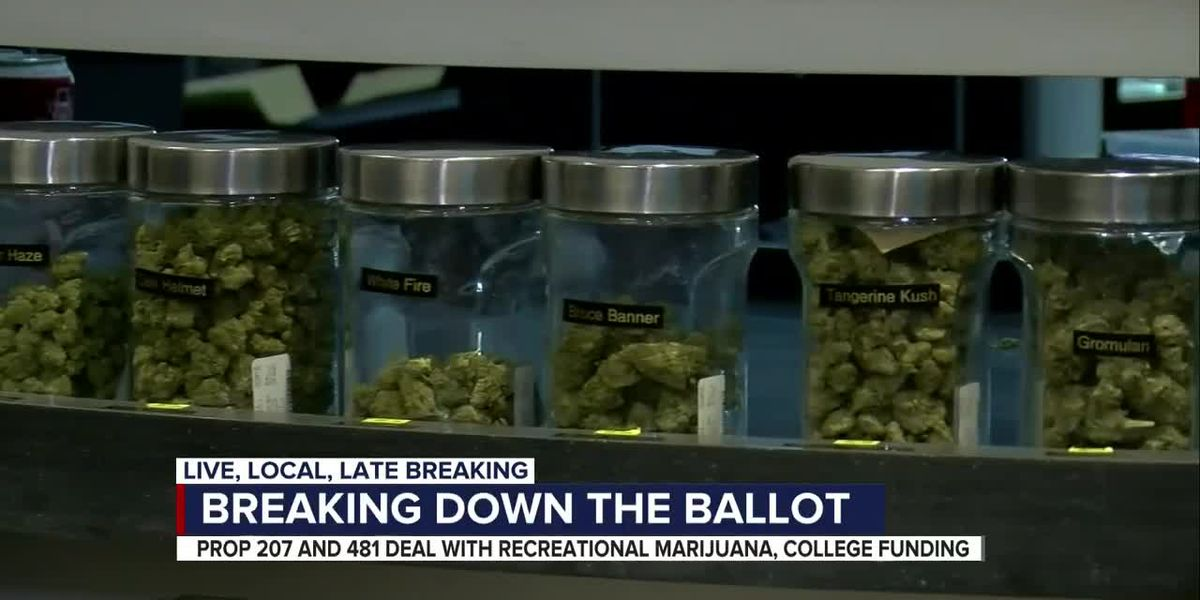 Arizonans to vote on recreational marijuana, college spending