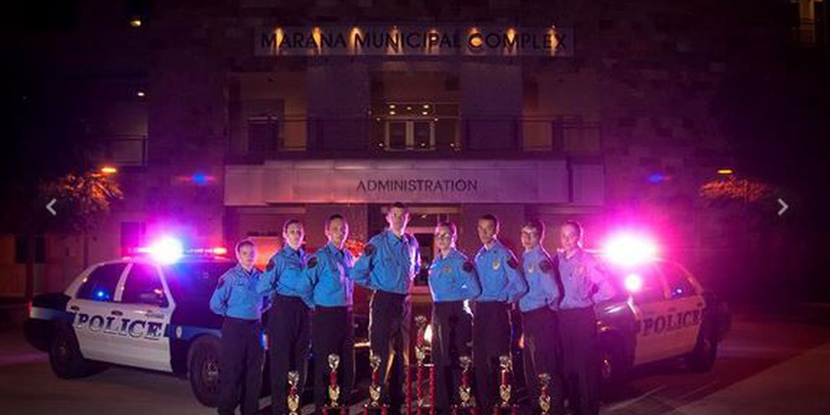Marana Police Explorers compete in regional competition