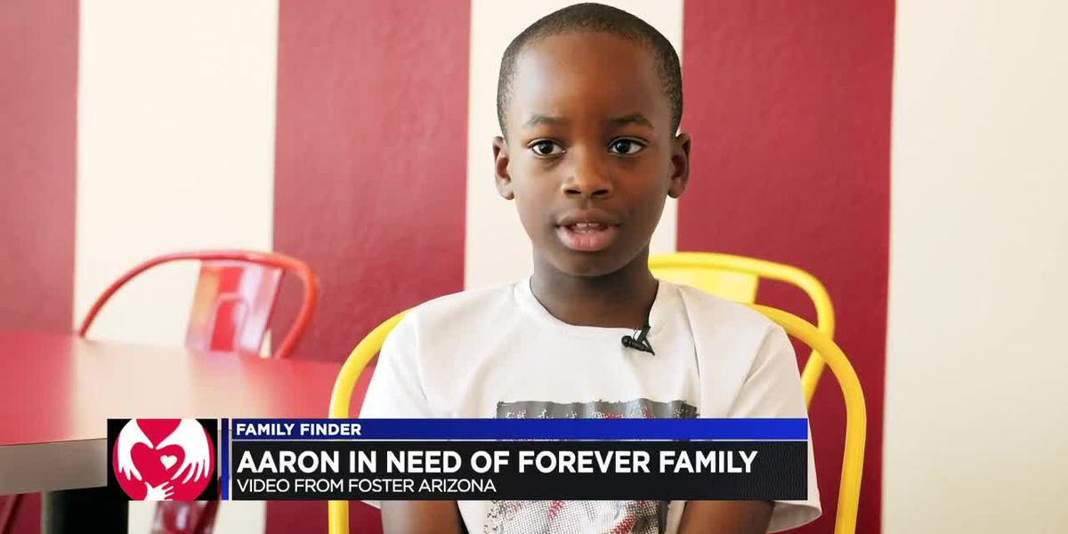 FAMILY FINDER: Aaron in need of a forever family