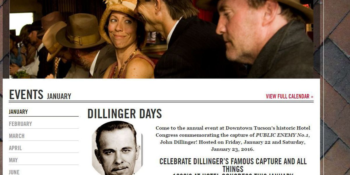 Dillinger Days 2016: Live streaming, exclusive re-enactment front row seats