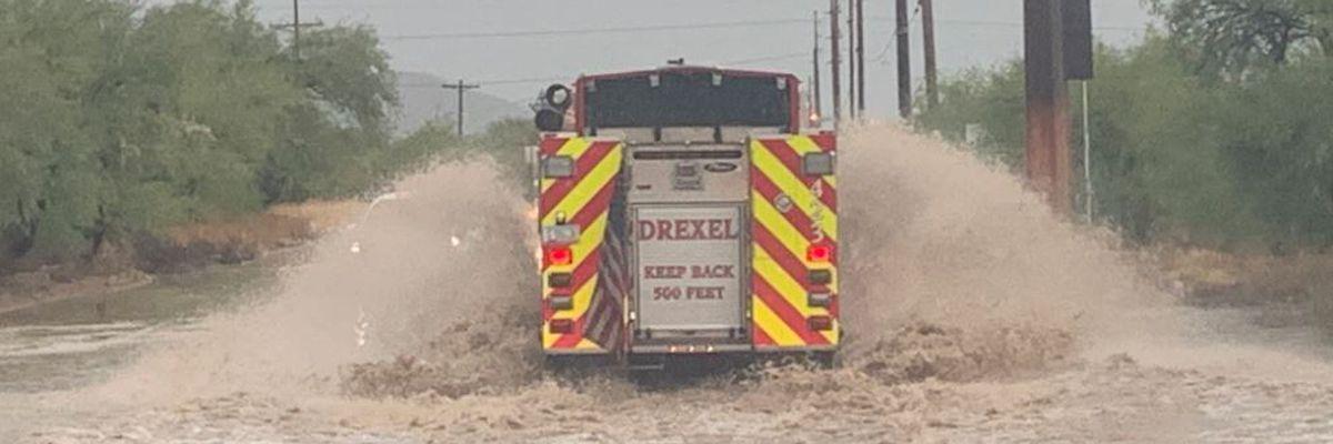 UPDATE: Storm brings flash flood warnings, rescues, road closures
