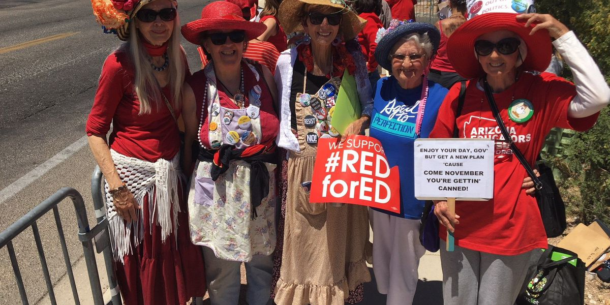Not your typical protesters: The Raging Grannies sing to be heard