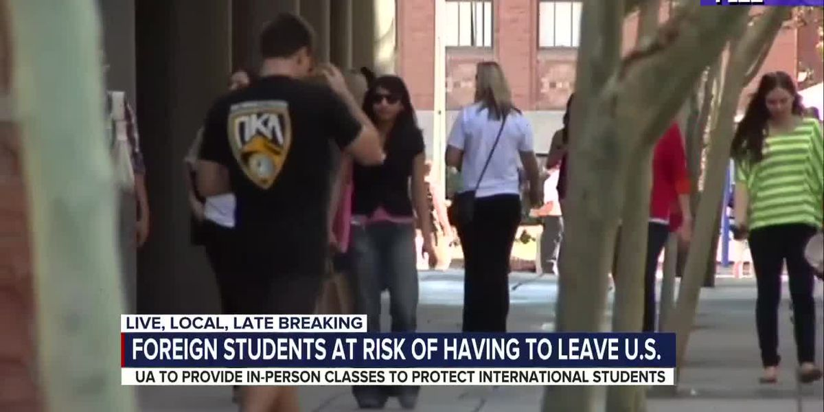 Foreign students with fully online classes can't stay in the U.S., according to ICE