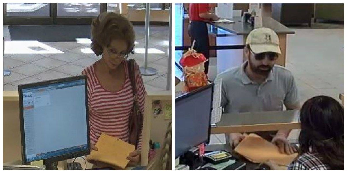 Tucson authorities looking for bank robbery suspects