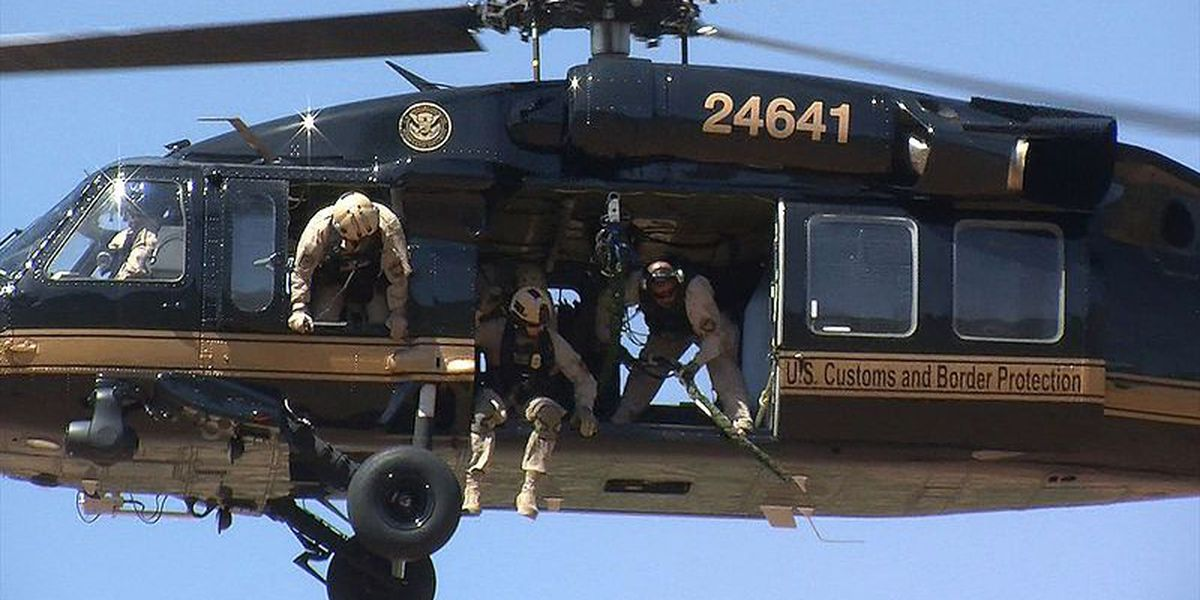Helicopter crew saves illegal immigrant suffering a heart attack