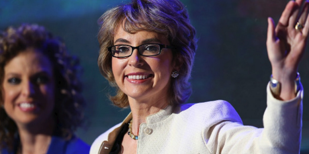 Former Congresswoman Gabrielle Giffords pays tribute to victims, community's resilience