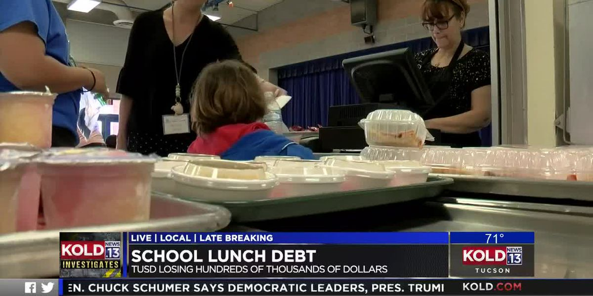 KOLD INVESTIGATES: School lunch debt
