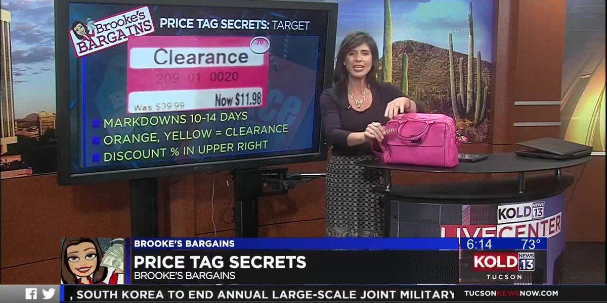 BROOKE'S BARGAINS: Price tag secrets