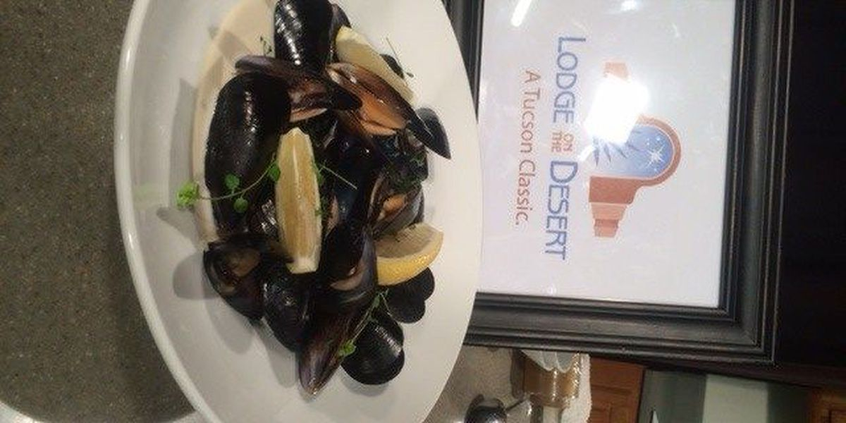 PROVENÇALE MUSSELS from Lodge on the Desert