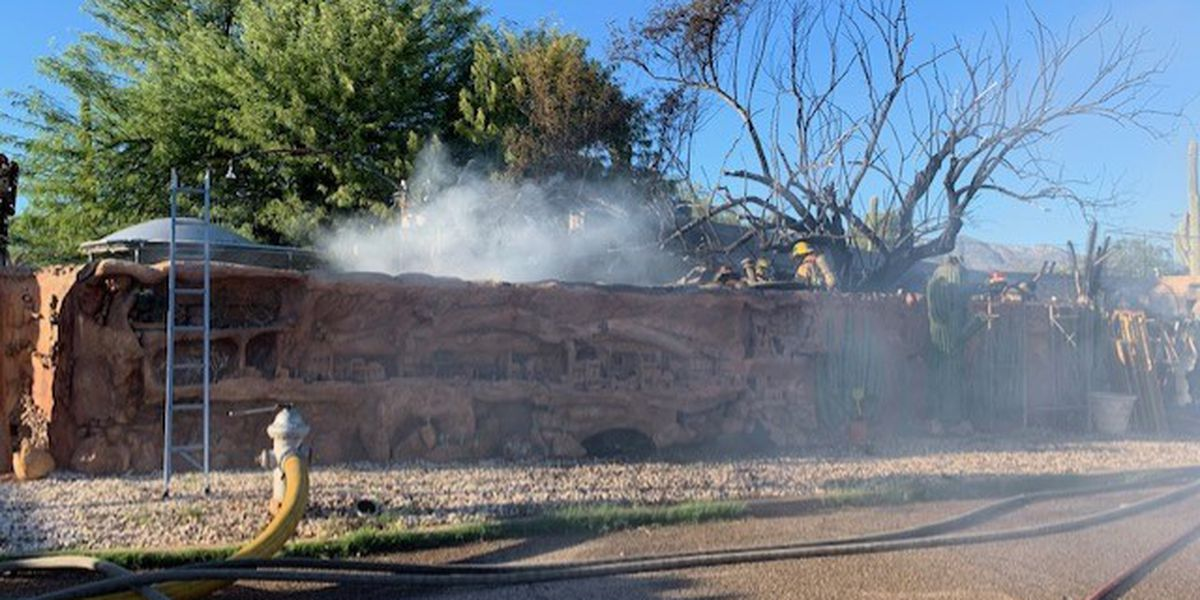 Fire in northwest Tucson displaces one